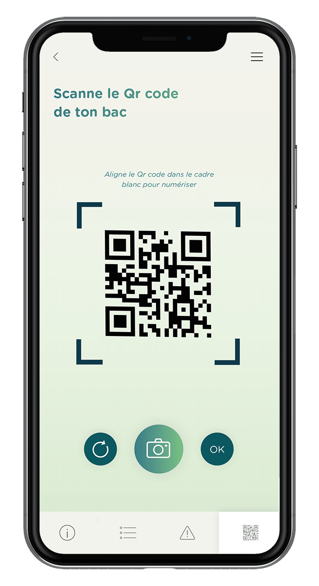 Application Ortusia - Scan Qr Code